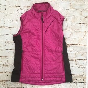 REI Women's Size M Pink Quilted Vest